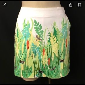 🦋Lady Hage Golf Skorts🦋Whimsical Insect Print